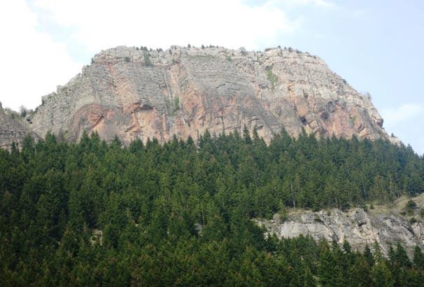 Trabzon Şahinkaya dağcılık sporunun yeni adresi oldu