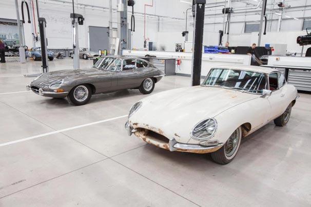 Jaguar klasik otomobil restorasyon tesisi açtı