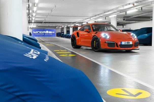 Dünyanın en lüks garajı Londra Otoparkı
