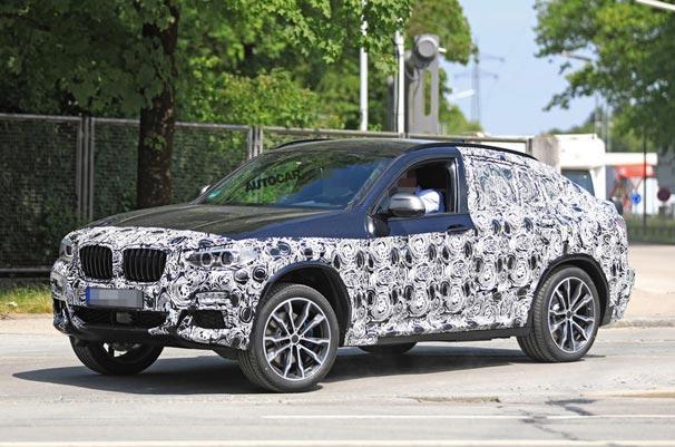 Yeni BMW X4 M40i test edilirken görüntülendi