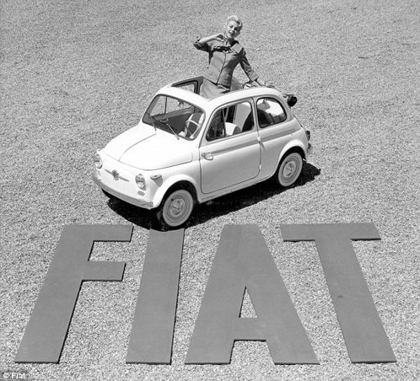 Fiat 500 60 yaşında