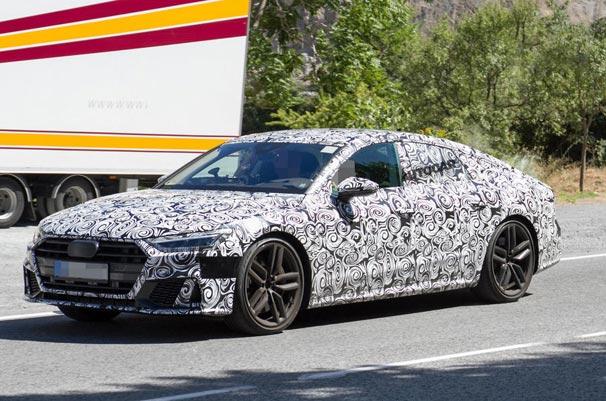 2018 model Audi A7 Sportback ve S7 görüntülendi