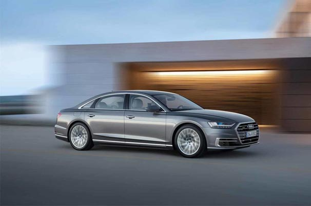 2018 model Audi A8 tanıtıldı
