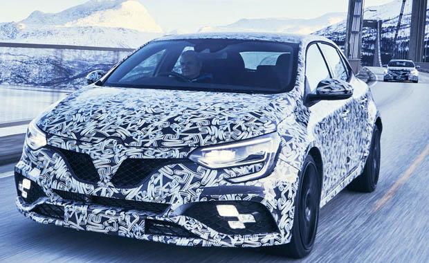 Renault Sport Megane fotoğrafları sızdı