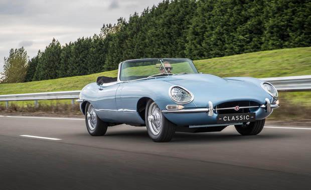 Jaguar elektrikli klasiğini tanıttı
