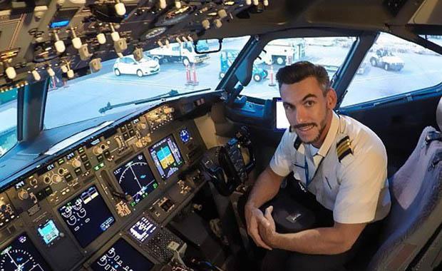 Brezilyalı pilot meğer herkesi kandırmış...