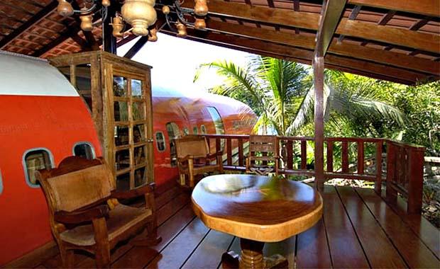 Kosta Rika'da bir garip otel