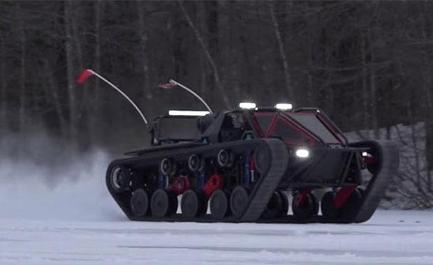"""Kişisel kullanım imkanı sunan """"Tank"""" Ripsaw EV3-F1"""