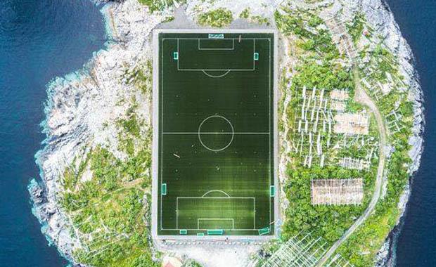 Norveç'in futbol adası Henningsvaer