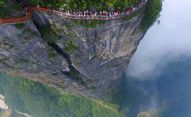 Dünyanın en korkunç köprüleri