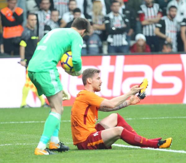 Galatasaray - Atiker Konyaspor maçından kareler