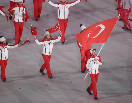 23. Kış Olimpiyat Oyunları Güney Kore'de başladı!