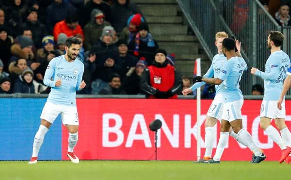 Basel - Manchester City: 0-4