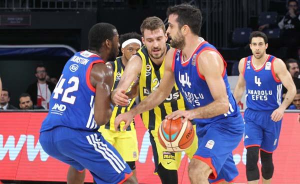 Fenerbahçe Doğuş - Anadolu Efes: 80-83