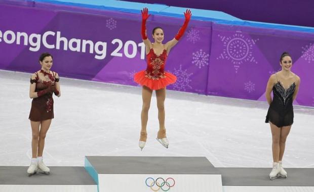 15 yaşındaki Rus sporcu Alina Zagitova rekor kırarak şampiyon oldu