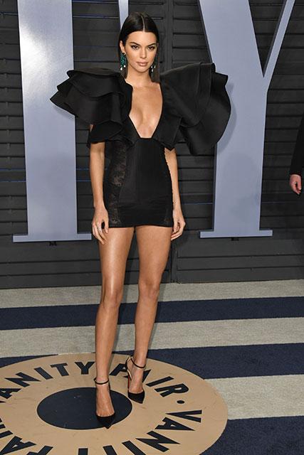 2018 Vanity Fair Oscar Partisi: En iyi giyinenler