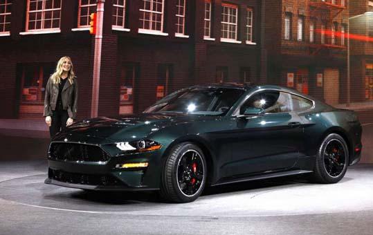 Yeni Ford Mustang Bullitt, Cenevre'de sergilenecek