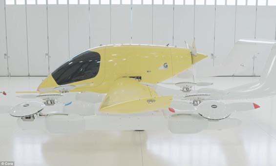 Google uçan taksi modeli Cora'yı görücüye çıkardı