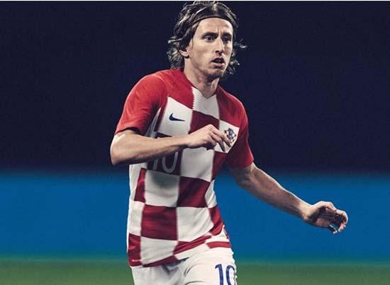 Hırvatistan Milli Takımı'nın Dünya Kupası formaları tanıtıldı