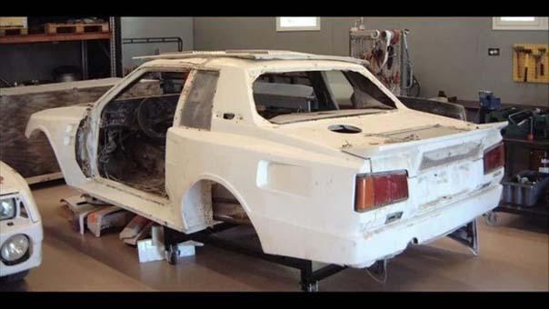1984 model Toyota'yı yeniden hayata döndürdüler