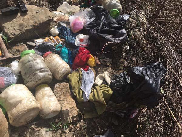 Tunceli'de biri TOW füzesi ile tuzaklanmış 9 sığınak imha edildi
