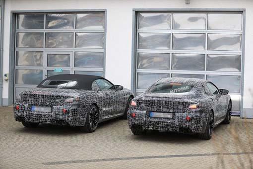 BMW M8 üç farklı kasa halinde geliyor