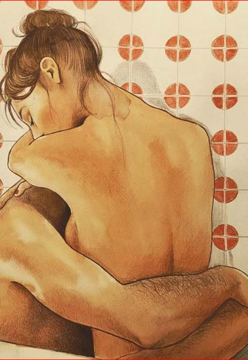 Sevgilisine duyduğu özlemi sanata çevirdi