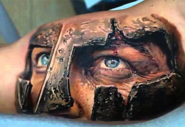 Ne amaçla yapıldığını anlamayacağınız 3D dövmeler