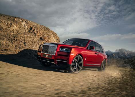 Rolls-Royce, Cullinan'ı ortaya çıkardı