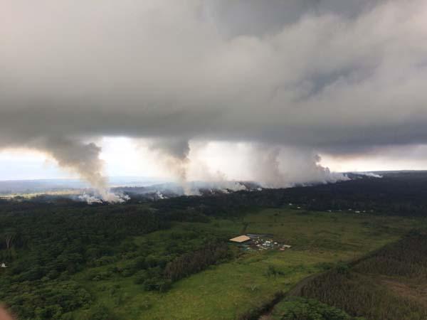 Kilauea Yanardağı'nda yeni bir patlama daha yaşandı