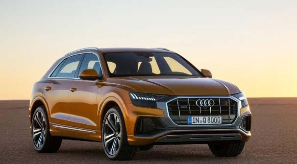 BMW ve Mercedes'e rakip gelecek Audi Q8 tanıtıldı!