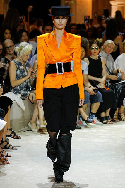Alexandre Vauthier Sonbahar-Kış 2018 Couture