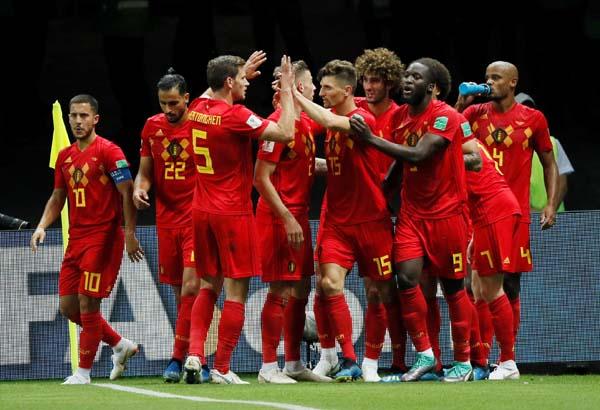 Brezilya - Belçika maçından kareler