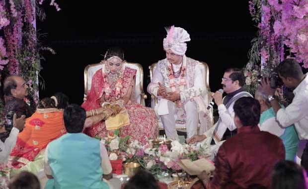 Bodrum'da dillere destan Hint düğünü