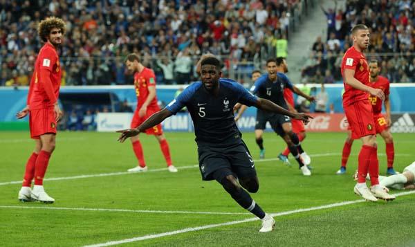 Fransa - Belçika maçından fotoğraflar