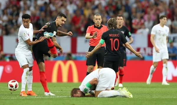 Hırvatistan - İngiltere maçından fotoğraflar
