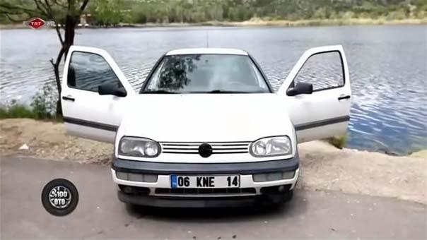 1998 model Volkswagen Golf'ü bakın ne hale getirdiler