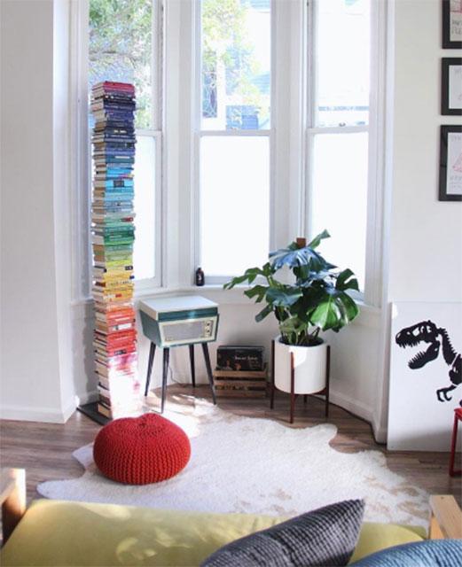 Instagram'dan küçük evler için dekoratif fikirler