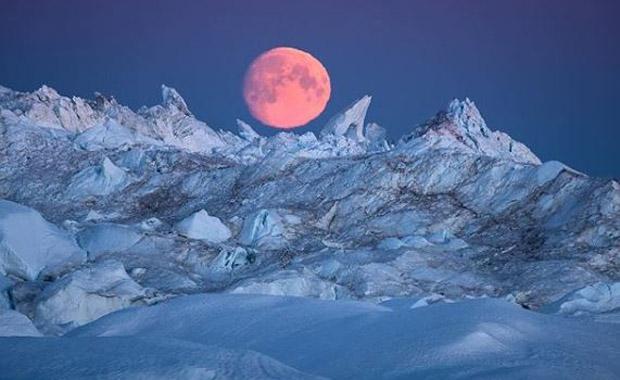 Fotoğrafçıların gözde rotası Grönland