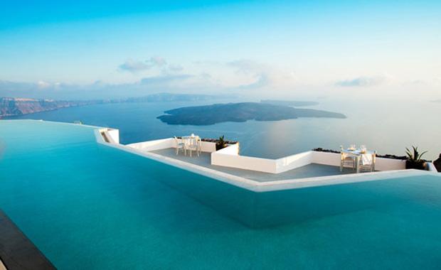 Tatil fotoğraflarının favorisi sonsuzluk havuzları
