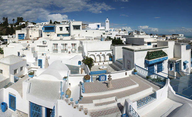 Tunus'un Santorinisi: Sidi Bou Said