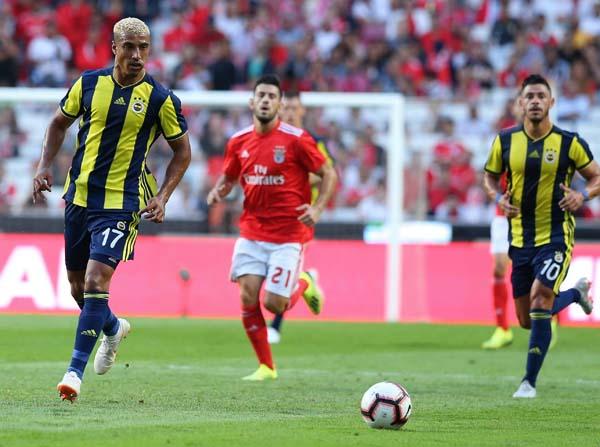 Benfica - Fenerbahçe maçından kareler