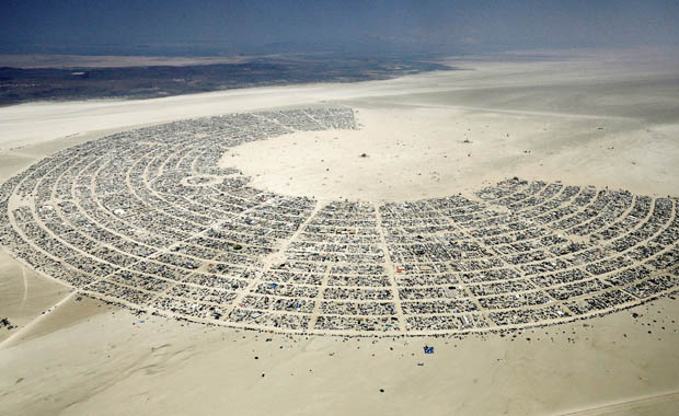 Burning Man tüm hızıyla devam ediyor