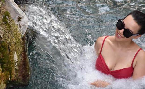 Kleopatra havuzuna büyük ilgi