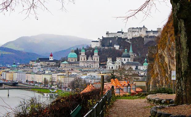 Müziğin başkenti Salzburg