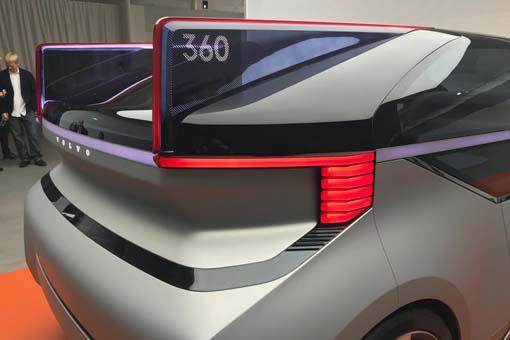 Volvo'dan oturma odası gibi otonom araç: 360c