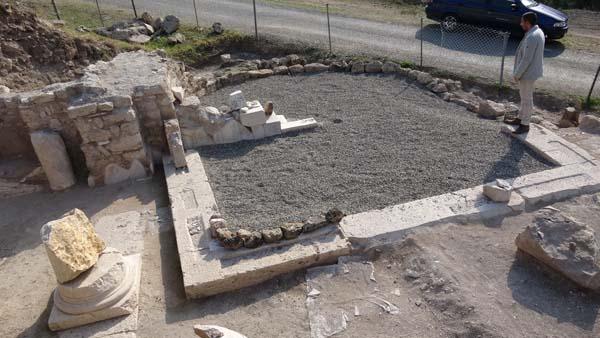 Karabük'te Marcos ve Lucas'ı simgeleyen mozaikler bulundu