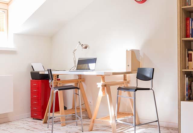Küçük evler için çalışma odası önerileri