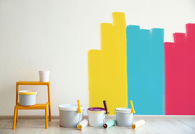Odanızı kolayca boyamanın yolları