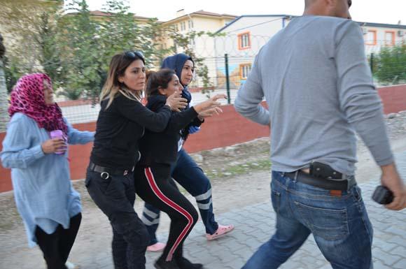 Adana'da yol verme kavgası kabusa dönüştü!